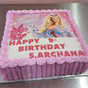 Princess Photoprint Cake 1kg